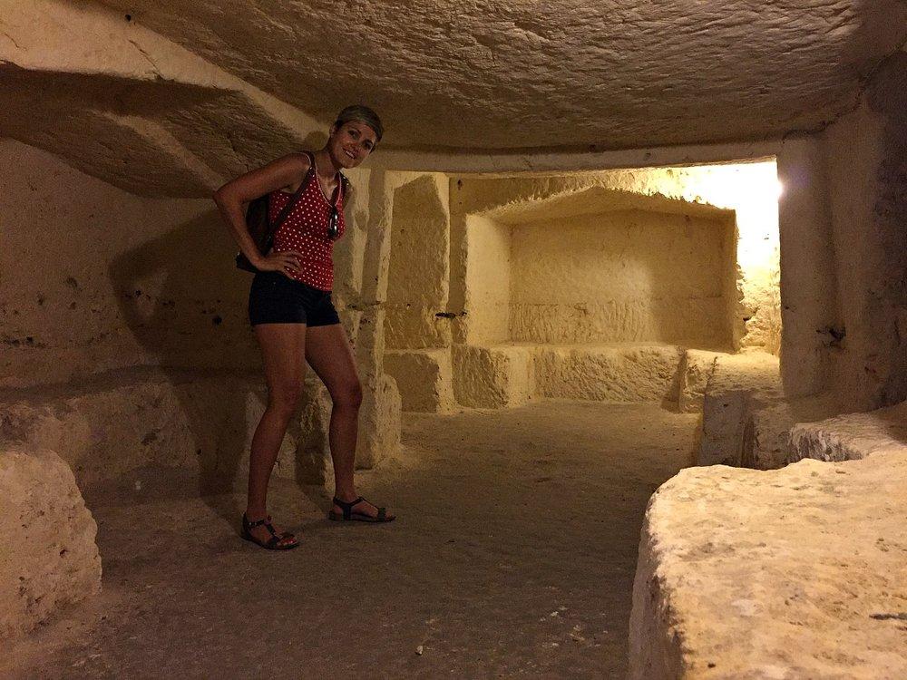 wignacourt catacombs malta