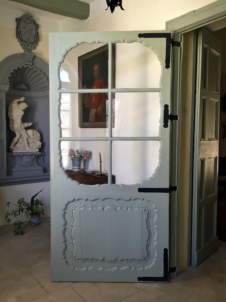 villa bernard door phenician glass
