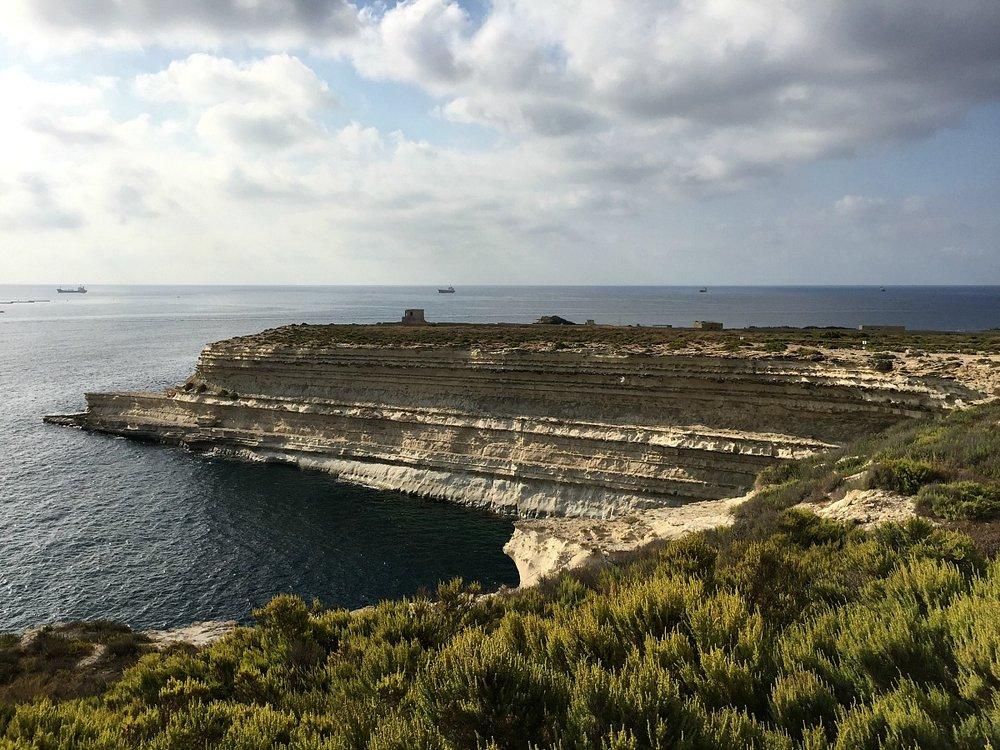 marsascala malta cliffs