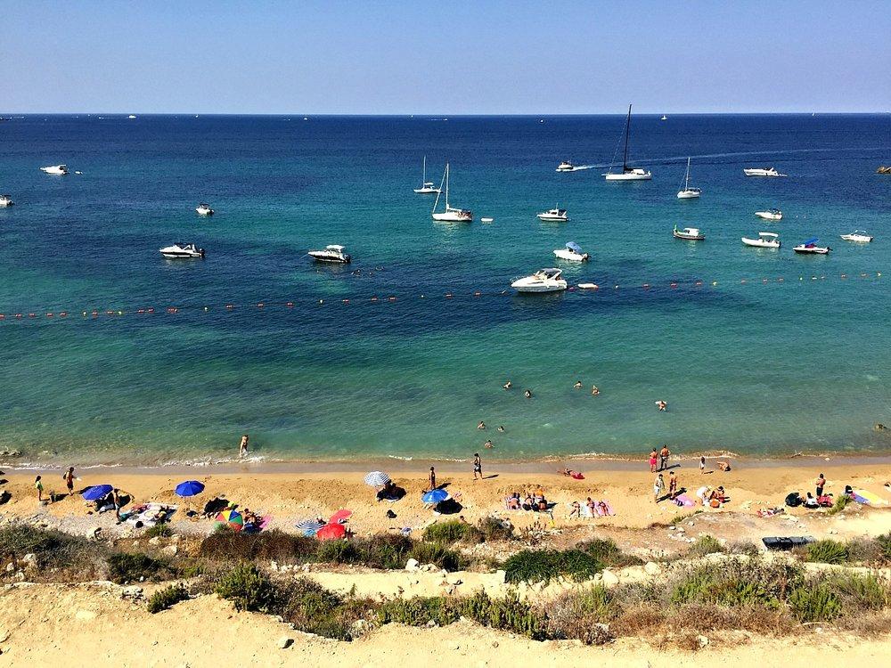 selmun sandy beach malta