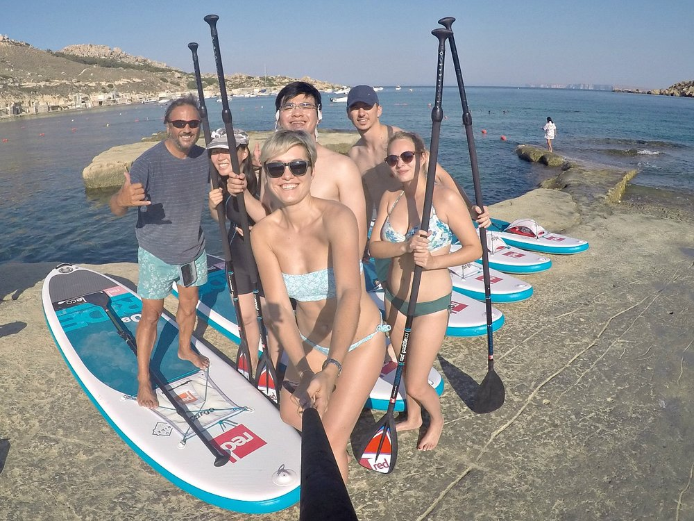 sup sea trek gnejna bay