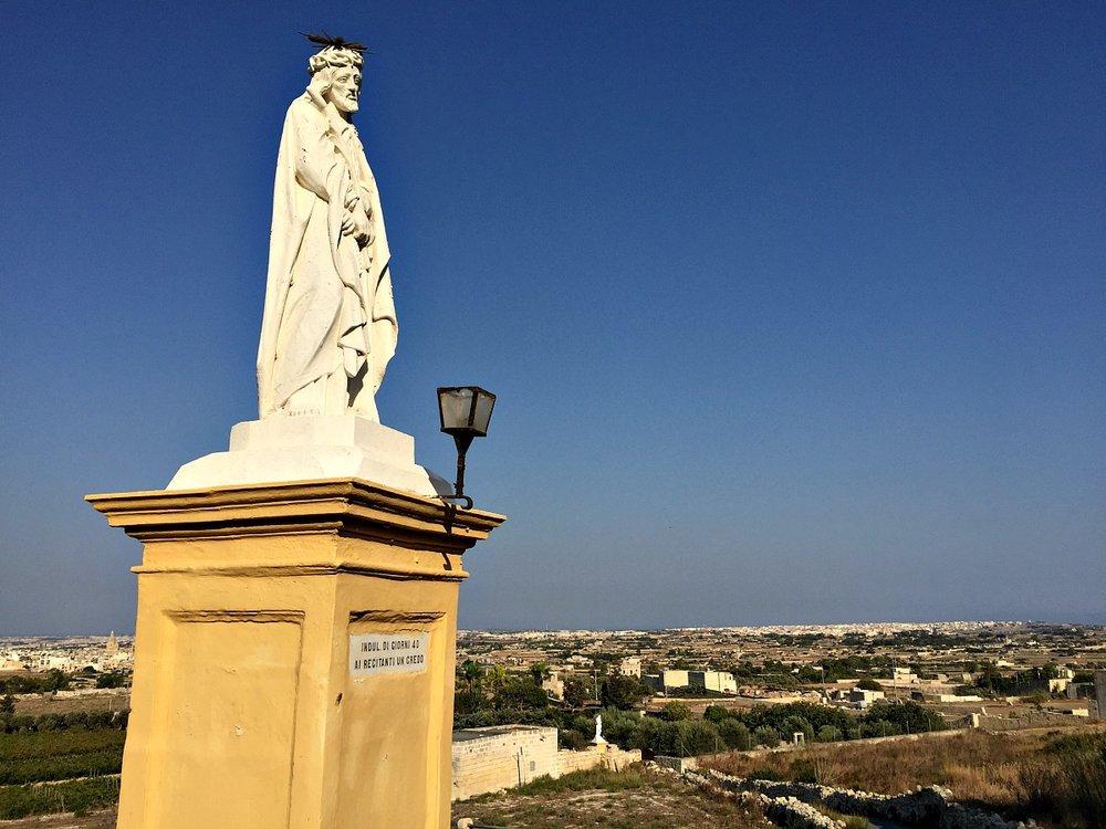 laferla cross statue siggiewi