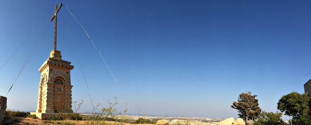 laferla cross panorama siggiewi malta