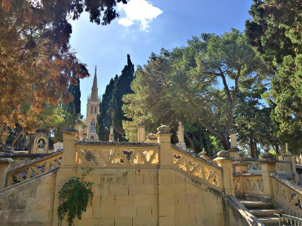 addolorata cemetery marsa malta