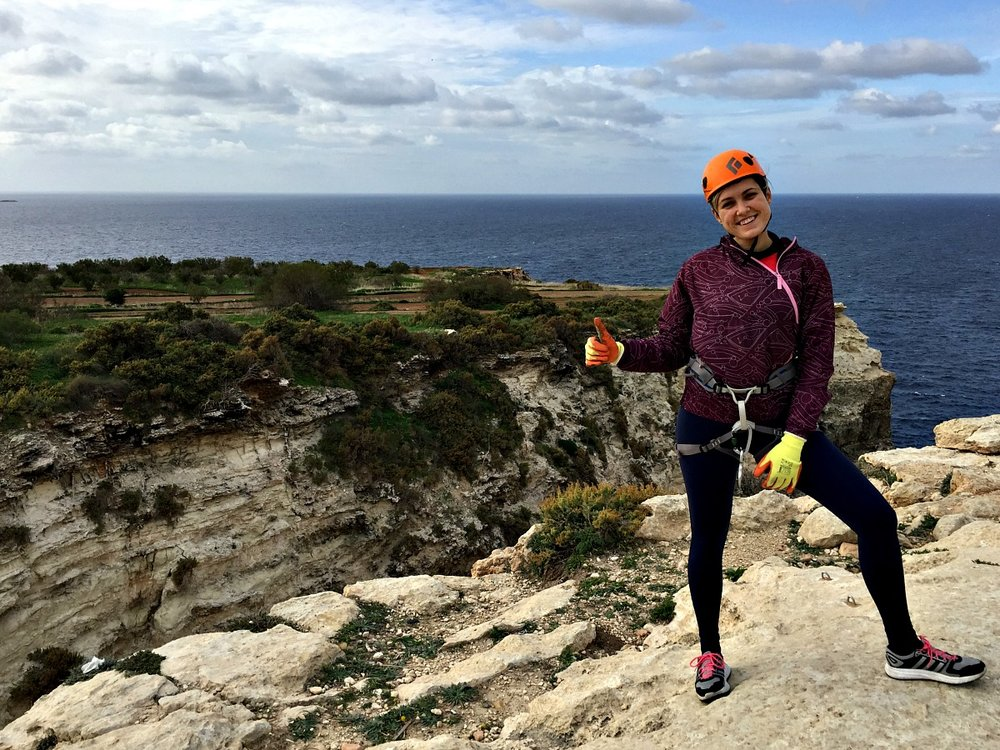 abseiling in malta outdoor activity