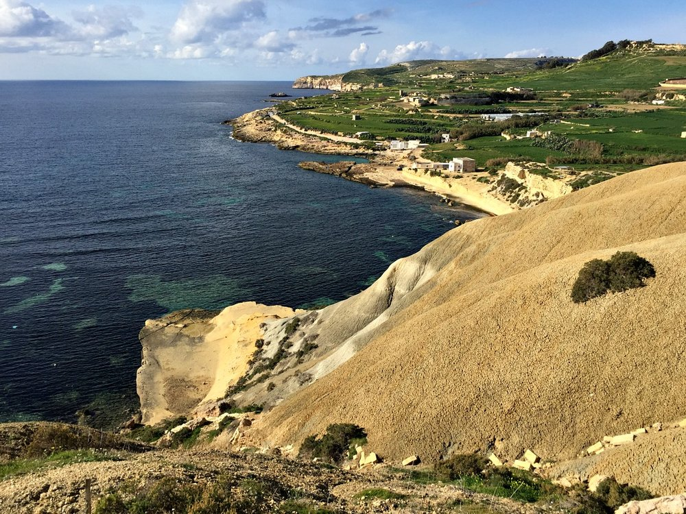 walk in gozo under fort chambray