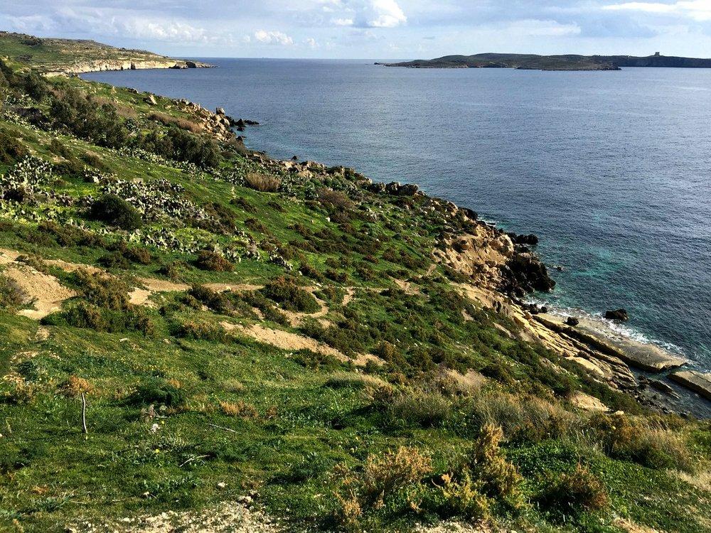 nature walk gozo malta
