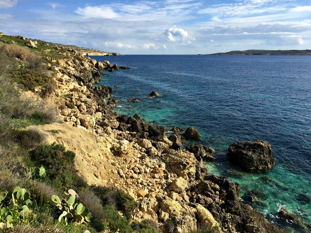gozo coastline walk