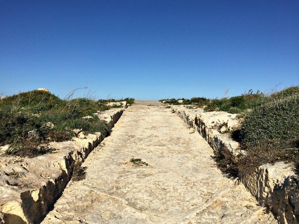 hiking in il-wardija malta countryside walk
