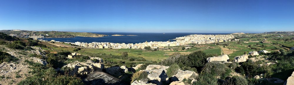 il-wardija malta view nature walk