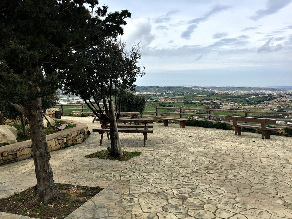 victoria lines malta picking area top of the world