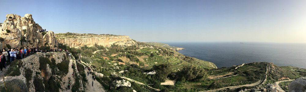 malta stunning views countryside