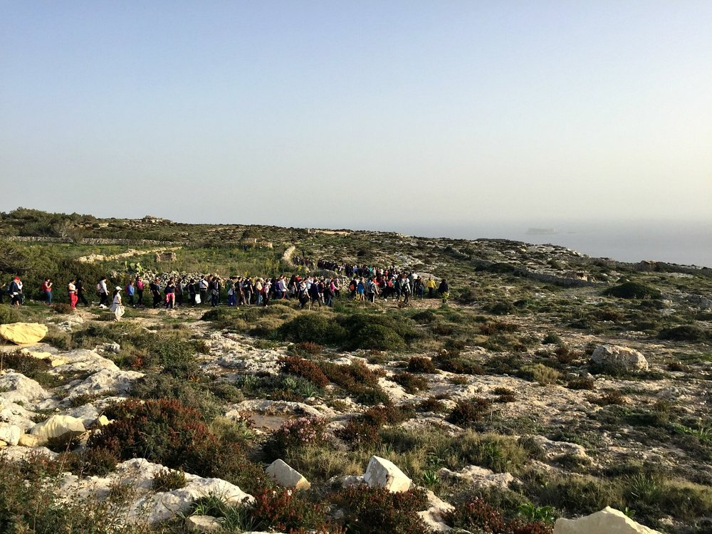 malta organised nature treks