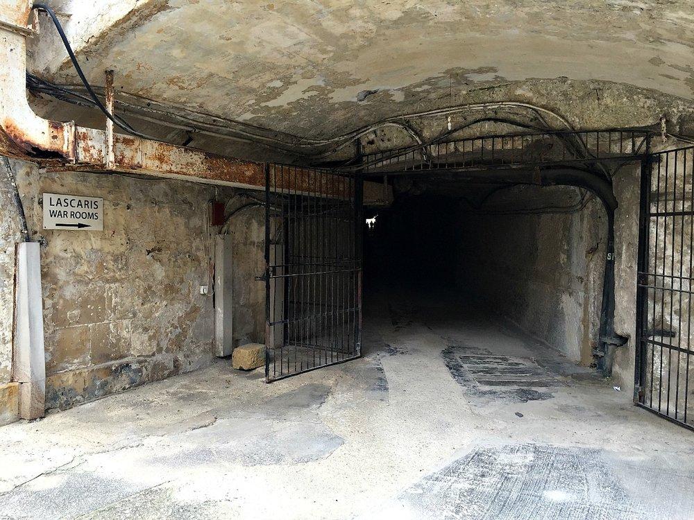 the lascaris war rooms entrance malta