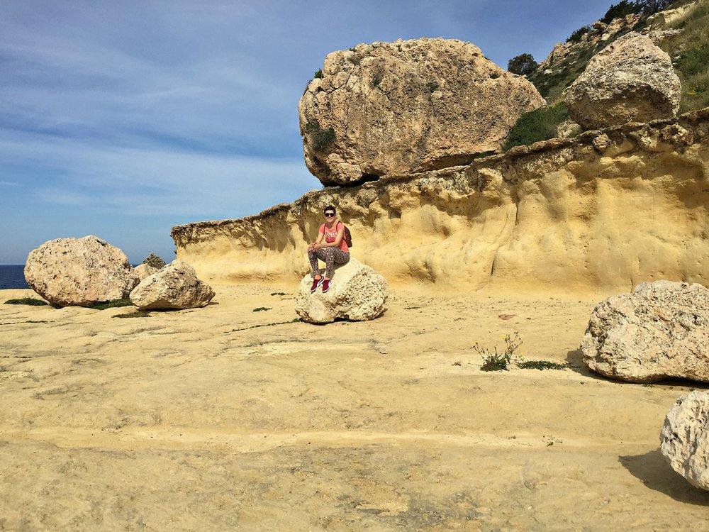 Mellieha's Rock Seashore