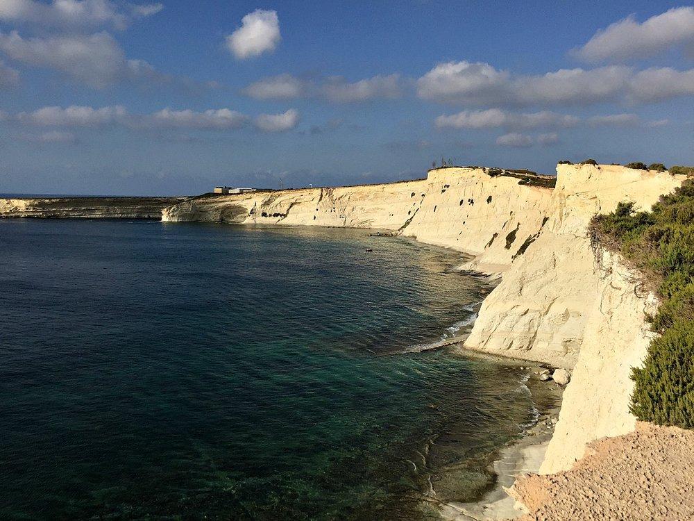 marsascala walk with stunning views