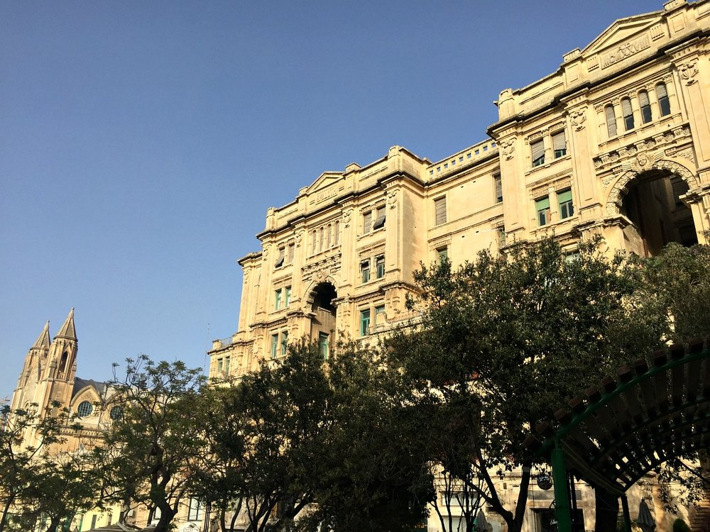 balluta bay in st julians malta