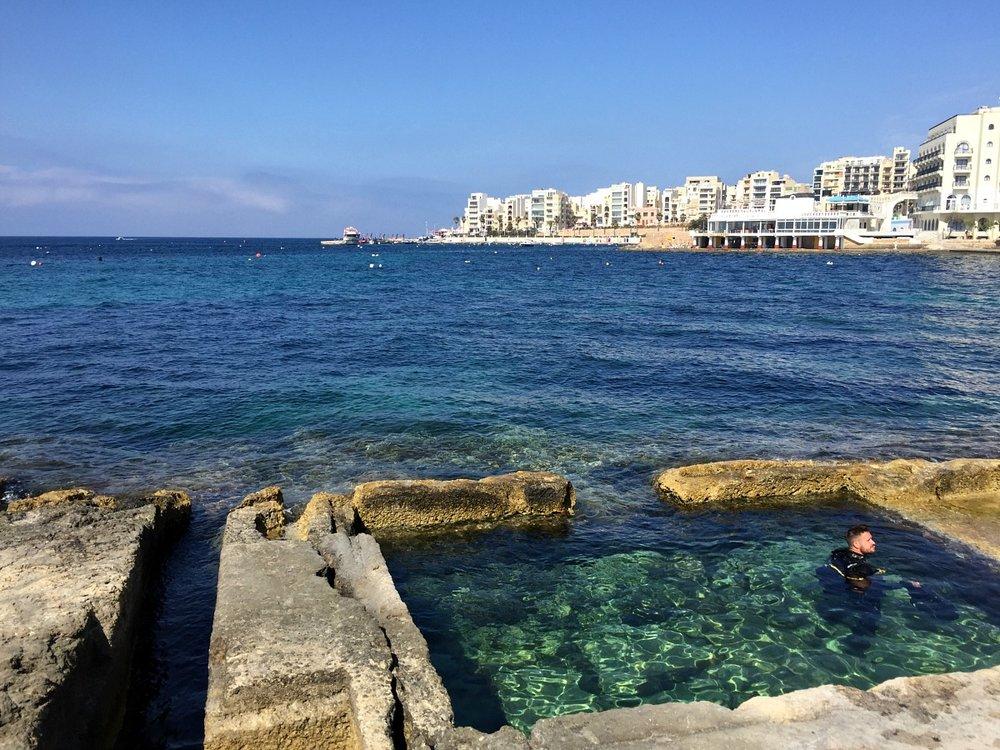 scuba diving location in malta