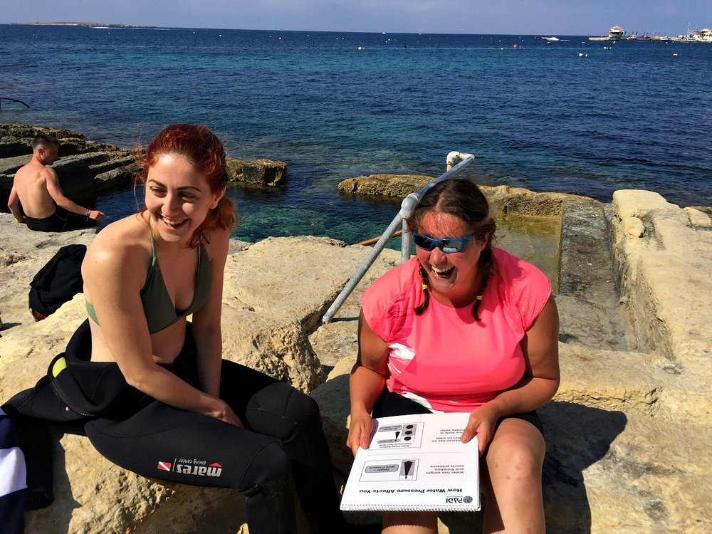 discover scuba diving course theory