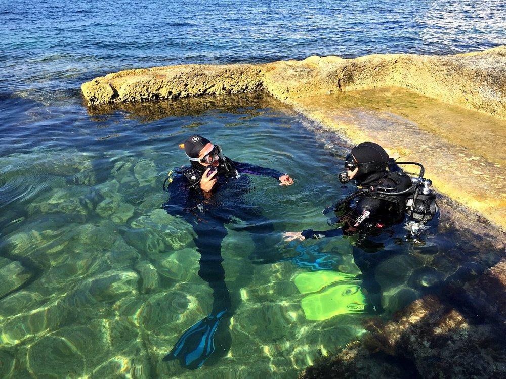 scuba diving courses in malta