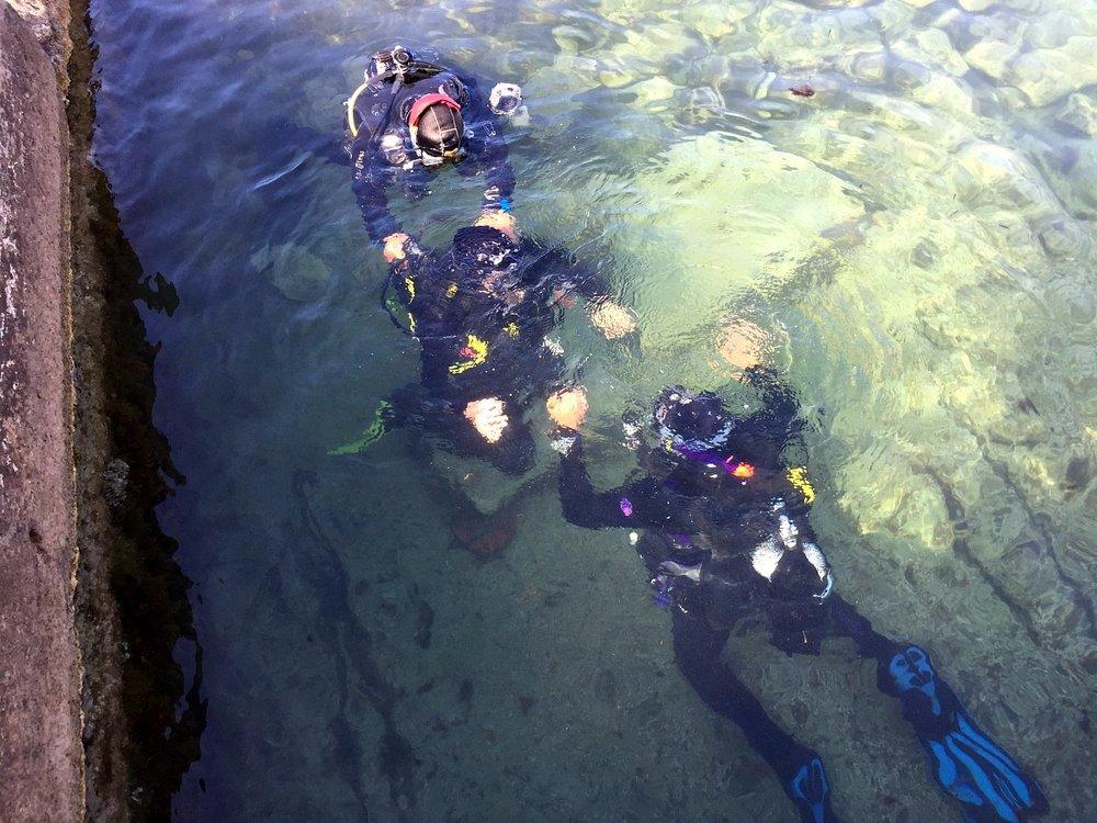 scuba diving lesson in malta