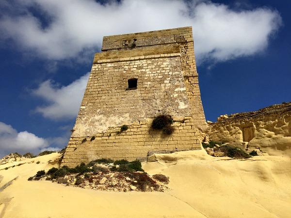 xlendi tower in gozo