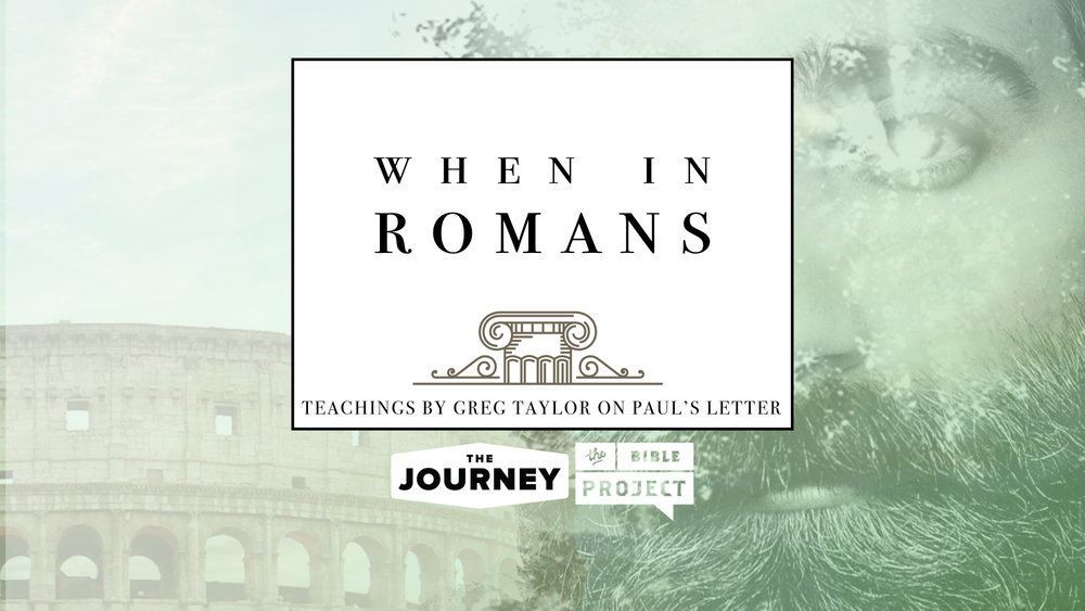 You can hear sermons on Romans at The Journey Podcast. Blog post written by Greg Taylor and provided by The Journey: A New Generation Church of Christ