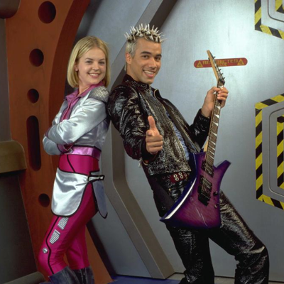 Disclaimer: Pictured above with Zenon is Protozoa, a character from the movie and not, unfortunately, youth minister Nate Donley.