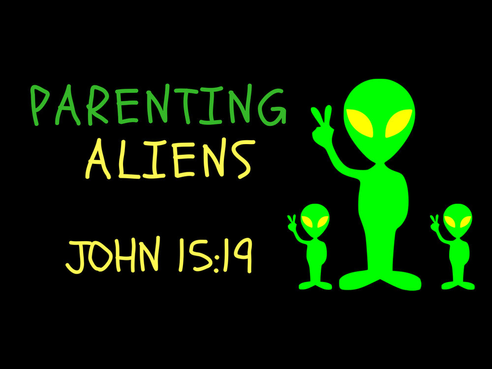 Parenting Aliens by Greg Taylor Wednesdaysat The Journey Outpost - 3171 S. 129th E. Ave. Ste. D, Tulsa, OK 74134