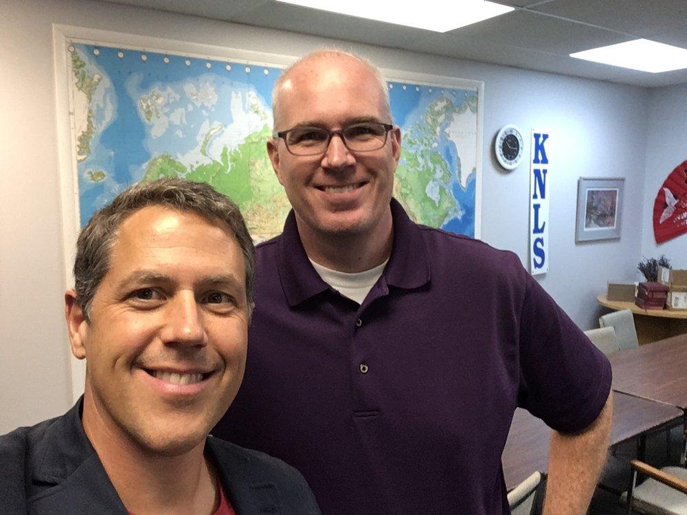 David Matthews with Greg