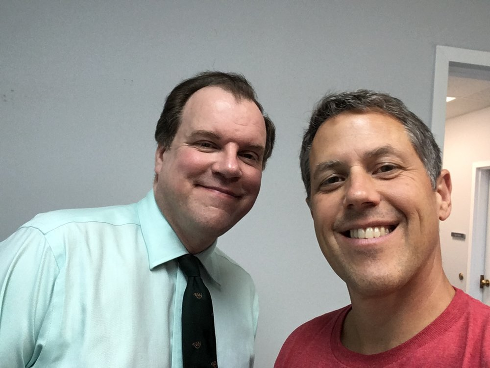 Paul Ladd with Greg