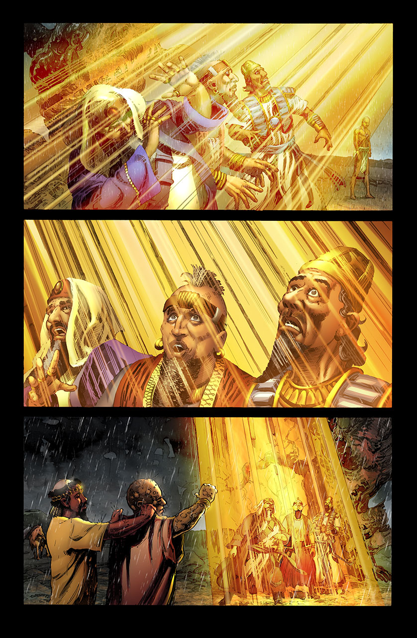 The Journey: A New Generation Church of Christ uses JOB ARTWORK BY PERMISSION and fees, COURTESY OF KINGSTONE COMICS ( https://kingstone.co/ )