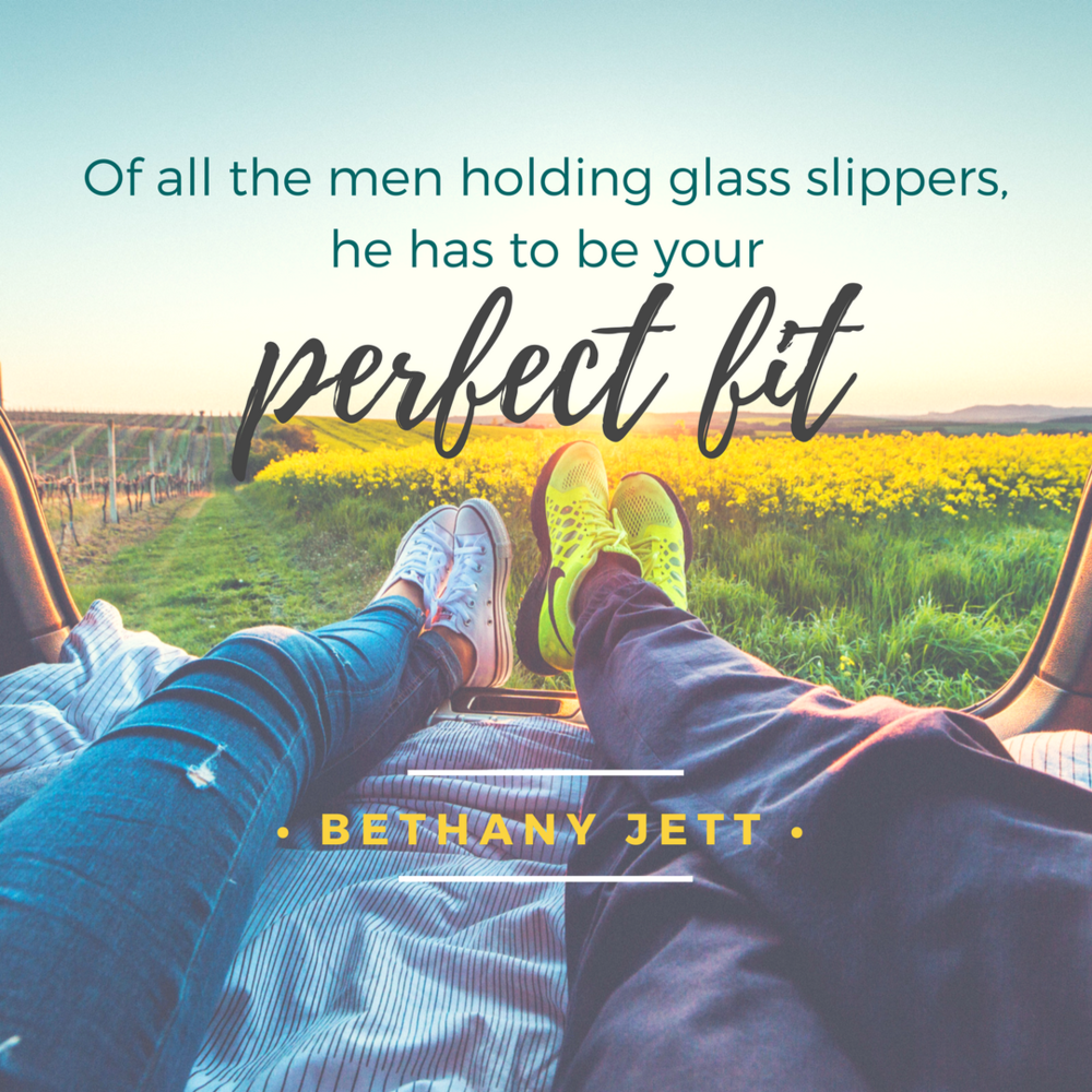 Of all the men holding glass slippers, he has to be your perfect fit. - IG.png
