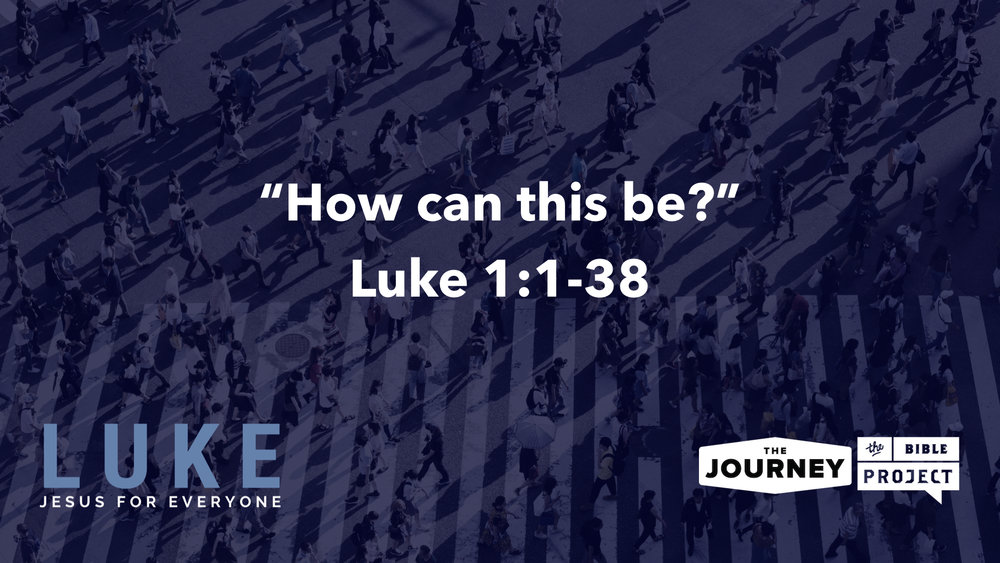 "The Journey begins Dec 9, 2018 a new series called ""Luke: Jesus for Everyone,"" the next book we are reading, studying, preaching and teaching through in The Journey Bible Project"