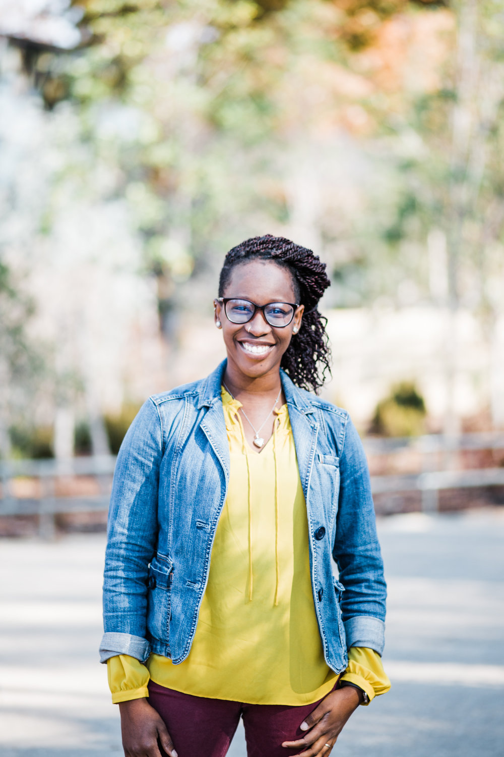 Nyasha Peters serves as administrative assistant for The Journey: A New Generation Church of Christ.
