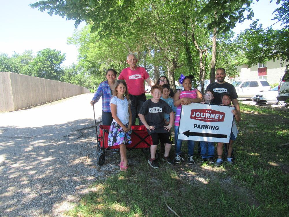 Journey Kids Community Service 2018