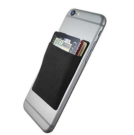 Business Card Holder - You know you need to bring business cards. Just keep them with your phone. I also keep my ID and Debit card in this. Amazon