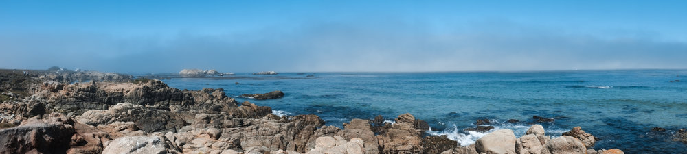 Pebble Beach Panorama - 17 Mile Drive
