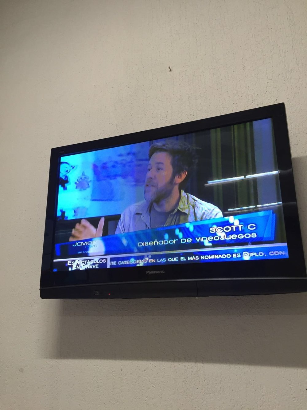 I was on Mexican TV, you guys! Check it out…