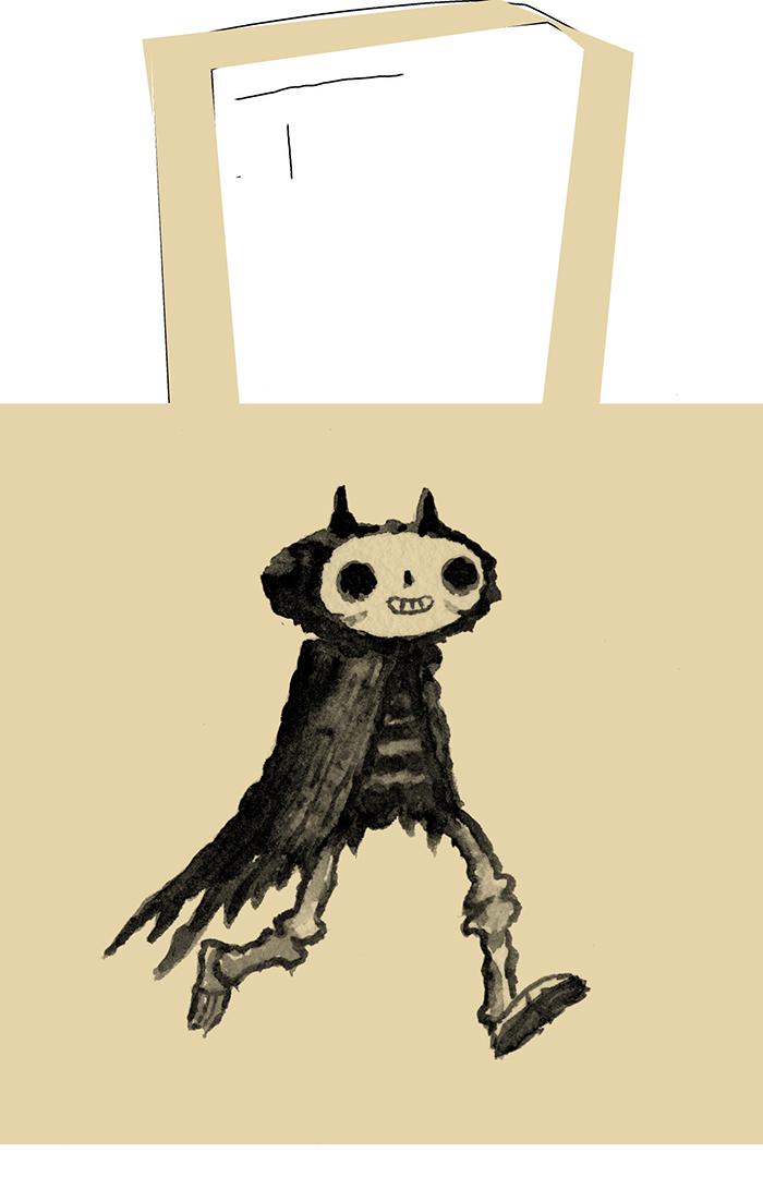 7. Devil Bones Tote $15