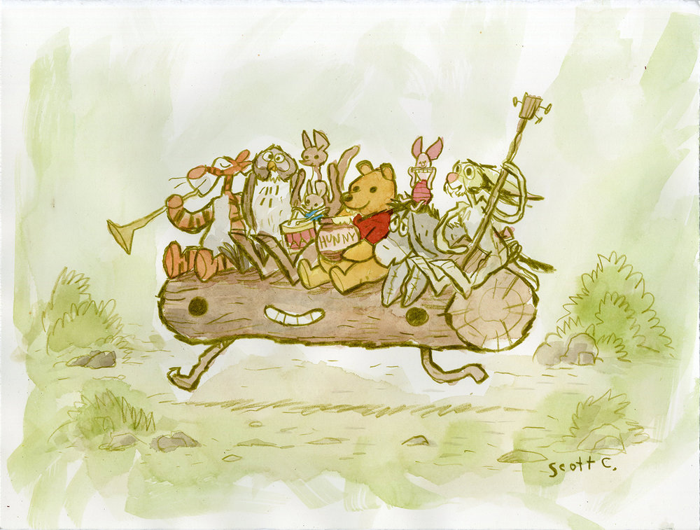 8. 100 Acre Log Run (edition of 150,   ONLY at the Gallery Nucleus booth  )