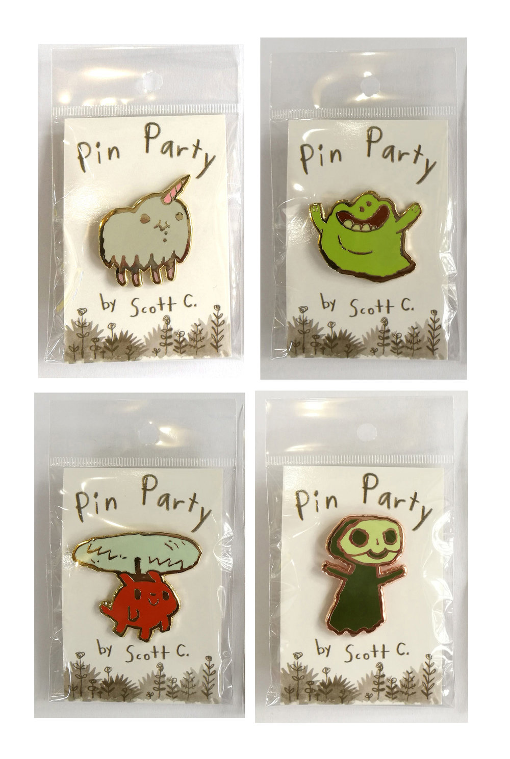 NEW PINS! $10 each