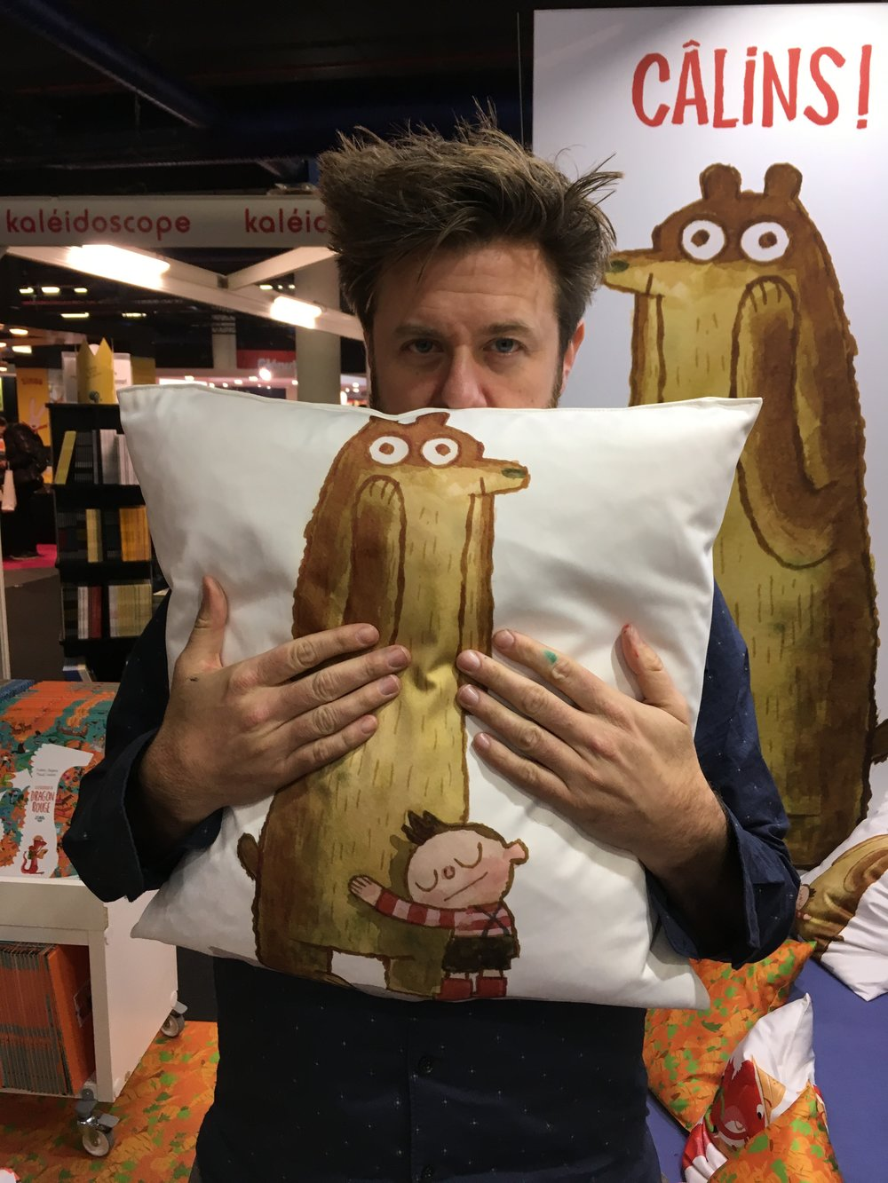 They made pillows for you to HUG.