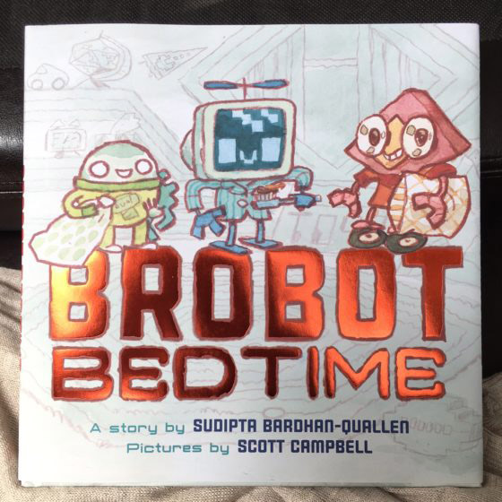"""Brobot Bedtime"" children's picture book – $17"