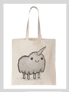 Unicorn Tote Bag – $15