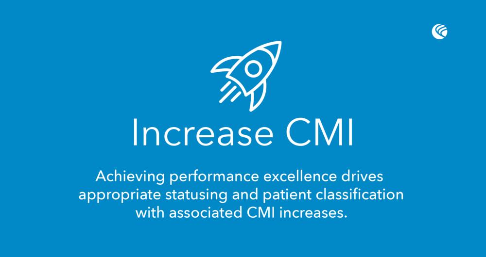 Increase case mix index