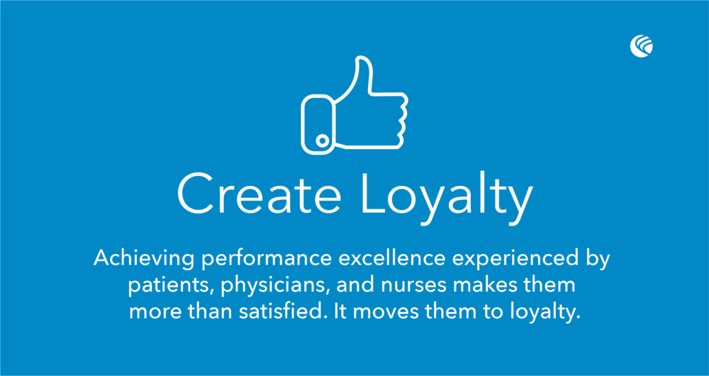 Create patient loyalty