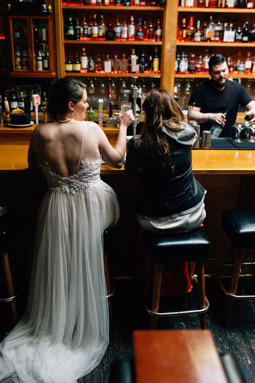 seattle feminist wedding photographer lgbtq lgbt queer wedding downtown fuck yeah weddings kendall lauren shea