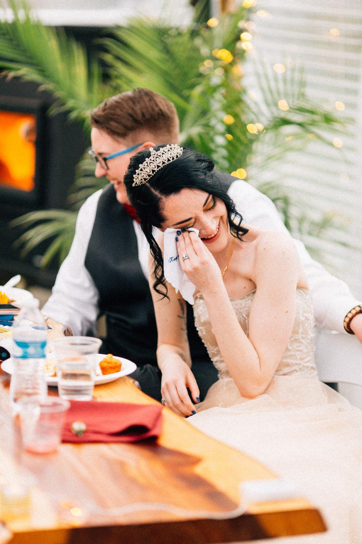 seattle feminist wedding photographer lgbtq lgbt queer wedding downtown fuck yeah weddings kendall lauren shea harry potter