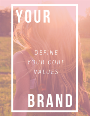 FREE Core Values Worksheet — HATCHED COLLECTIVE